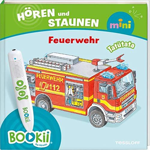 BOOKii® Hören und Staunen Mini Feuerwehr (BOOKii / Antippen, Spielen, Lernen)