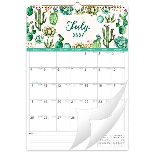 Kalender 2021-2022 - Wandkalender 2021-2022, 30,5 x 43 cm, Juli 2021 - Dezember 2022, flexibel mit julianischem Datum,Perfekt für die Planung und Organisation von Schulen, Büros und Wohnungen
