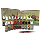 The Army Painter Super Hobby Collection: 20 Model Paints with 2 Miniature Paint Brushes, Model Tool Kit, Basing Set, 18 ml/Bottle, Miniature Painting Kit, Non-Toxic Acrylic Paint Set for D&D miniature