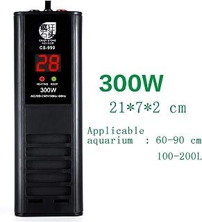 JZX Calentador digital para acuarios, Ptc Cerámica, Elemento de calefacción de ahorro de energía