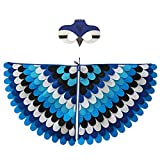 shorecofei SweetWU - Juego de máscara para disfraz de ala de pájaro, disfraz de Halloween, cosplay, ropa de animales para fiestas