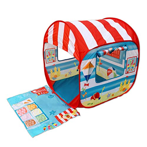 Pop it Up Anti-UV Tent | UPF 50+ Pop Up Beach Tent for Toddlers and Children, Easily Folds Into a Carrying Bag for Outdoors & Beach