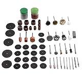 Brocas de impacto Molienda de lijado pulido abrasivo de accesorios for herramientas Set for 97pcs herramienta rotativa Dremel