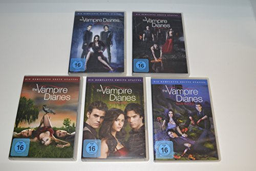 The Vampire Diaries - Staffel 1-5 [28 DVDs]