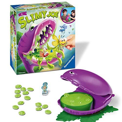 Ravensburger Kinderspiel Slimy Joe, Spiel für Kinder ab 4 Jahren, für 2 bis 4 Spieler - Glibberiger Sammel- und Aktionsspielespaß mit echtem Schleim