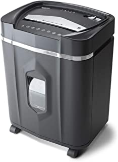 Aurora AU1640XA Anti-Jam 16 Sheet Crosscut Paper/CD and Credit Card/ 5 Gal Pullout Basket Shredder, 30 Minutes Continuous ...
