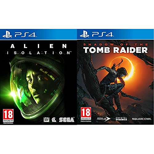 Alien: Isolation Ps4 - Playstation 4 & Shadow Of The Tomb Raider - Playstation 4