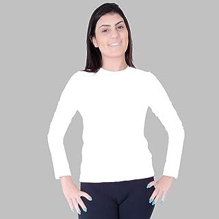 Blusa Verão Proteção Solar Uv 50+ Feminina Praia Piscina Lazer Esportes