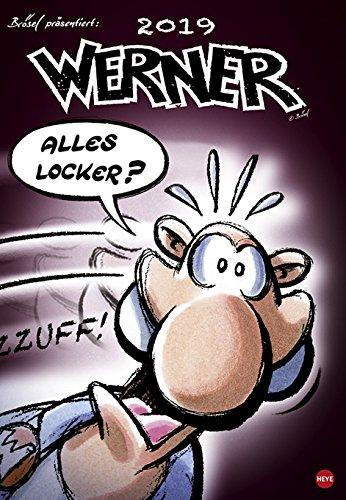 Werner - Alles locker ? - Kalender 2019 - Rötger Feldmann - Heye-Verlag - Wandkalender - 37 cm x 53,5 cm