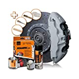 Foliatec F2156 Bremssattel-Lack-Circuit grau glänzend-3 Komponenten