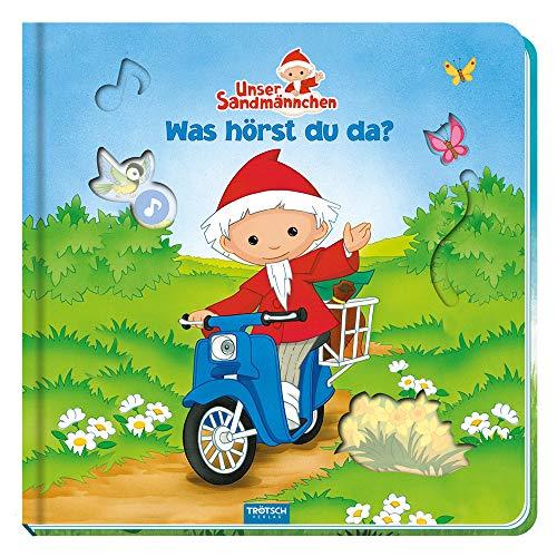 Trötsch Unser Sandmännchen Was hörst du da?: Soundbuch Geräuschebuch Bilderbuch Spielbuch