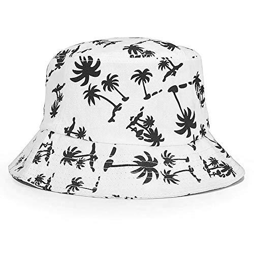 FISHSHOP Sombrero de Pescador Unisex Diseño Liso Sombrero de Pescador de Material Cómodo...