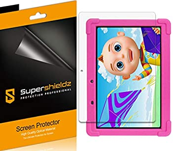 3 Pack  Supershieldz Designed for Contixo 10 inch Kids Learning Tablet  K101  Screen Protector Anti Glare and Anti Fingerprint  Matte  Shield
