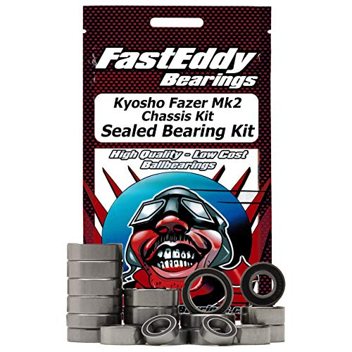 Kyosho Fazer Mk2 Chassis Kit Sealed Bearing Kit -  FastEddy Bearings, https://www.fasteddybearings.com-6760