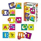 Diset-Las Vocales Juego Educativo, Multicolor (68964)
