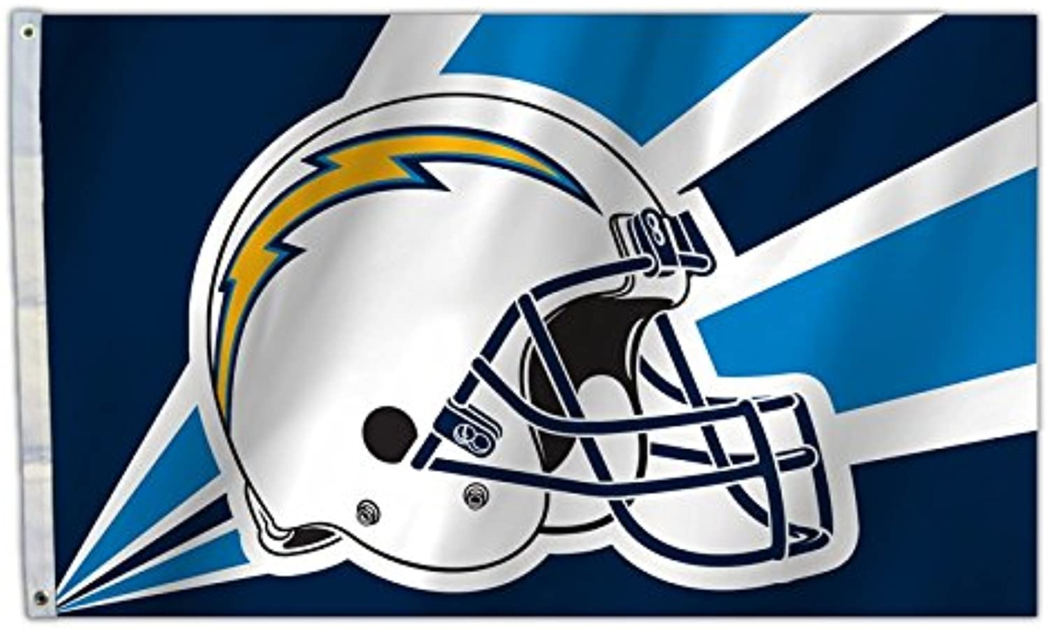 Buck Knives NFL Los Angeles Chargers 3 Ft. X 5 Ft. Flag with Grommetts, One Size, Multicolor