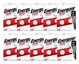 Energizer CR2032 - Pilas Litio 3V - Paquete de 10 Blister de 2 Pilas (Total 20 Pilas)
