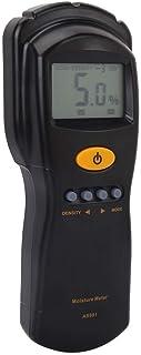 Tester Humidimètre d'humidité Mulfonctionnel Lumière numérique Indicateur d'écran LCD pour Le Papier Coton en Bambou en Bo...