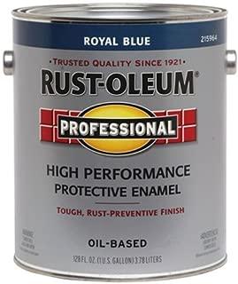 RUST-OLEUM Blue 215964 Professional Gallon Royal Enamel Paint