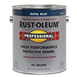 RUST-OLEUM Blue 215964 Professional Gallon Royal Enamel Paint