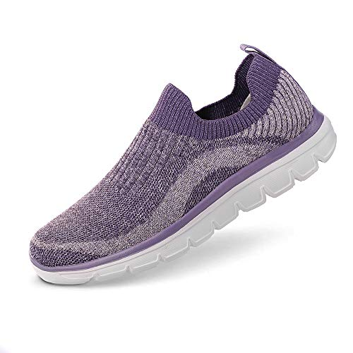 Women Running Shoes Casual Sports Non Slip Walking Sneaker $14.80 (60% Off with code)