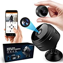 Spy Camera 1080P Mini Hidden Camera Wireless Portable Nanny Camera , WiFi Security Camera Real Time Video Recorder Built-in Battery Recharger Mini Spy Camera