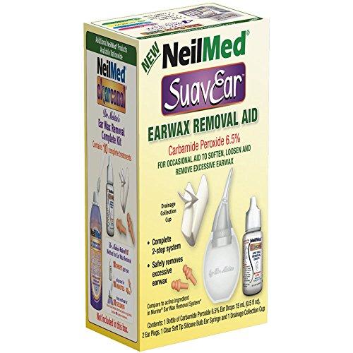 NeilMed Suavear Ear Wax Removal Aid, 0.20 Pound