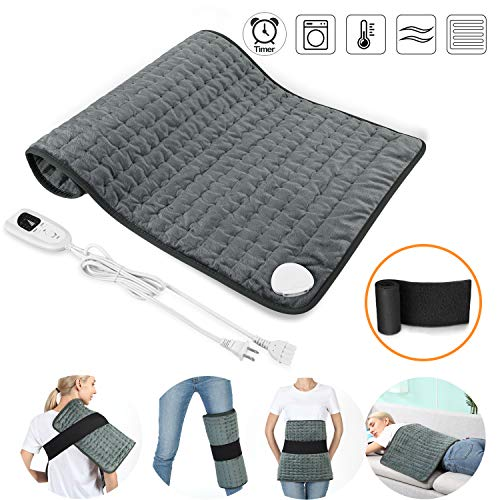 """SARCCH 30"""" x 16"""" Heating Pad, Electric Heating Pad for Moist & Dry Heat"""