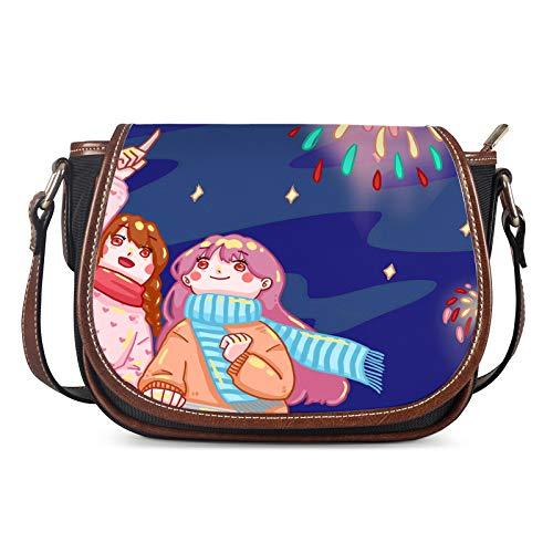 Lady Bags, Bolsos de Las Mujeres Messenger Ladies Hombro Al Aire Libre Personalidad Bolso Bolso Girl Bolsa Femenino Silla Casual Bag Crossbody,Azul