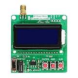 Medidor de Potencia de radiofrecuencia Digital -75 ~ + 16dBm Se Puede configurar la atenuación de Potencia LCD Ultra pequeña Luz de Fondo automática-Verde