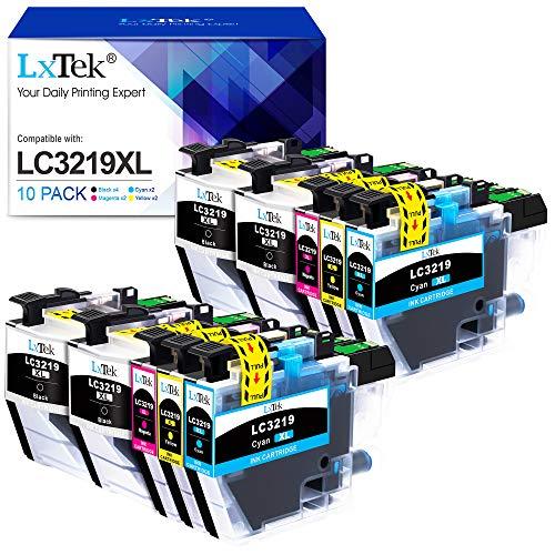 10 LxTek LC3219XL Compatible pour Brother LC3219XL LC3219 LC3217 Cartouches d'encre Compatible avec Brother MFC-J5330DW MFC-J5335DW MFC-J5730DW MFC-J5930DW MFC-J6530DW MFC-J6930DW MFC-J6935DW