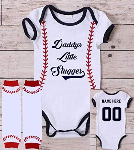Daddy/'s Little Slugger Baby Bodysuit