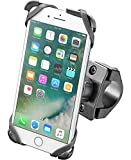 Interphone Cellularline SMMOTOCRADLEIP7PL   Soporte Moto Bicicleta Crab Manillar Tubular Universal iPhone 7 y 8Plus
