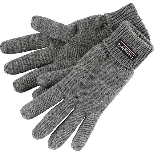 etirel Herren Zacharias Handschuhe, Anthra, L