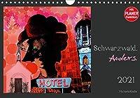 Schwarzwald. Anders. (Wandkalender 2021 DIN A4 quer): Pop Art Photocollagen aus dem Schwarzwald (Geburtstagskalender, 14 Seiten )