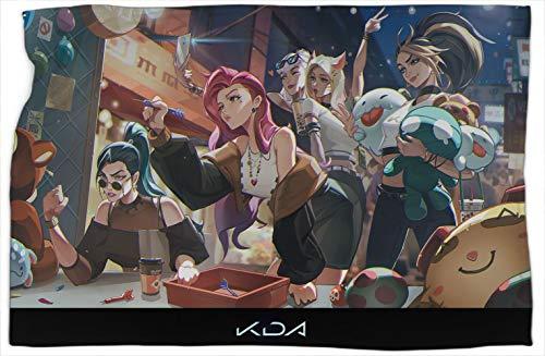 Fantasy Kda Girl League Legends - Manta para sofá (127 x 152 cm)