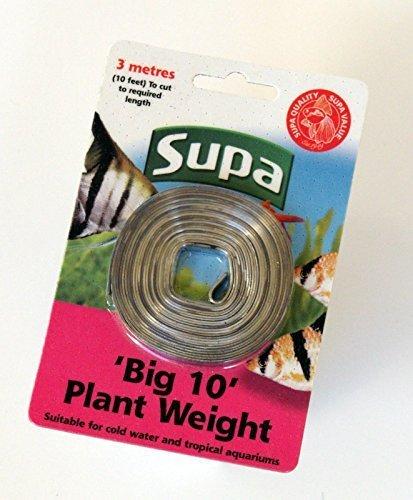 Supa Big 10 Gewicht für Aquariumpflanzen, 3m