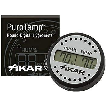 2 EN 1 Thermomètre numérique hygromètre Température Humidité compteur Curingcigares