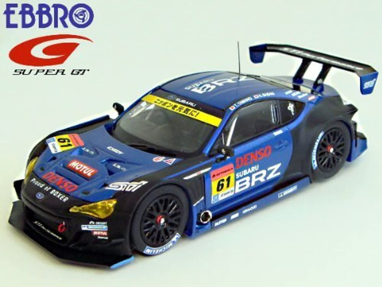 nuevo listado EBBRO 1 43 SUBARU BRZ R & D D D SPORT súper GT300 2013 Okayama Test No.61 (japan import)  saludable