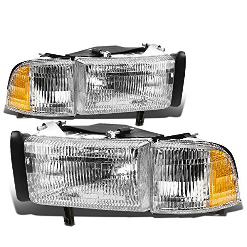 DNA Motoring Pair of OE Style Headlight [For 94-02 Dodge Ram]