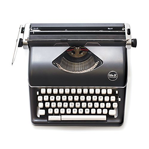 Typecast Retro Typewriter by We R Memory Keepers | Black