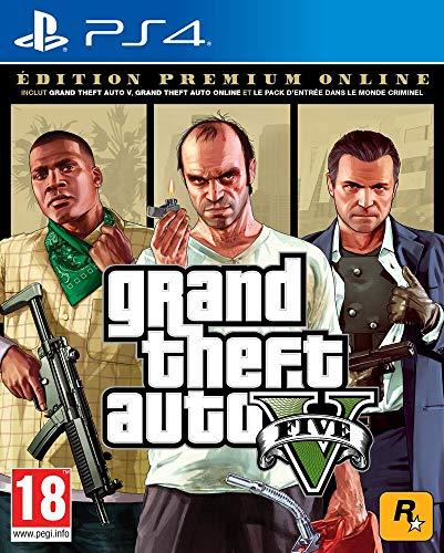 avis jeux de course ps4 professionnel Édition GTA V-Premium