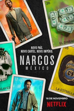 Narcos : Mexico – Portuguese TV Series Wall Poster Print - A4 Size Plakat Größe