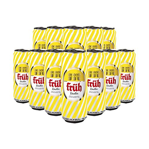 Fruh Kolsch 'Radler' German Low Alcohol Beer 500ml Cans (12 Pack) - 2.5% ABV