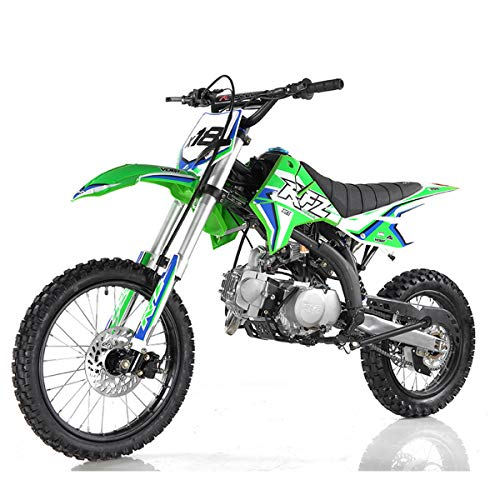125cc Dirt Bike Pit Bike Adults Dirtbikes Pitbikes 125 Dirt Pit Bike(Green)