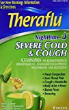 TheraFlu Night Time Severe Cold and Cough, Honey Lemon, 12 ct. (2 Packs of 6 Count Each)