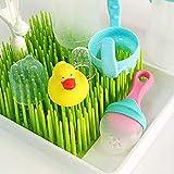 Feketden - Tendedero antibacteriano, para biberones, platos para bebé, tazas con boquilla, pezones (verde)