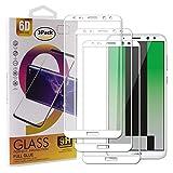 Guran [3 Pezzi Pellicola Vetro Temperato per Huawei Mate 10 Lite Smartphone Copertura Completa 9H Durezza Anti-Impronte HD Pellicola Protettiva - Bianco