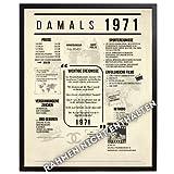 B3AL 1971 Poster Geschenkidee für 50 Geburtstag Jubiläum