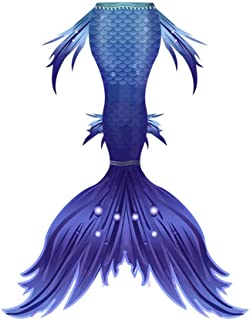 Sirena baño Cola De Sirena Para Natación Traje De Baño Mermaid Bikini Establece Disfraz De Sirena Para Niña Princesa Cospl...